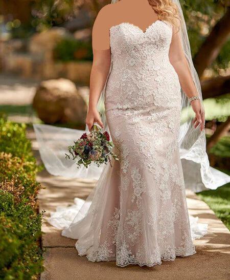 wedding1 dress1 obese20 مدل لباس عروس برای افراد چاق