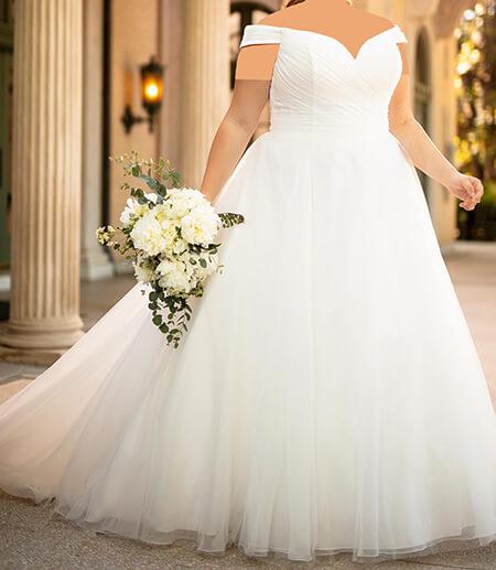 wedding1 dress1 obese6 مدل لباس عروس برای افراد چاق
