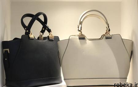 white2 bag1 model1 جدیدترین مدل کیف های سفید