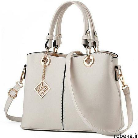 white2 bag1 model11 جدیدترین مدل کیف های سفید