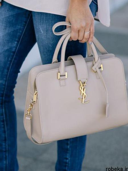 white2 bag1 model2 جدیدترین مدل کیف های سفید