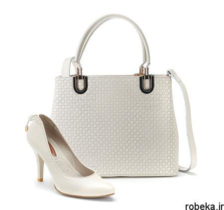 white2 bag1 model3 جدیدترین مدل کیف های سفید