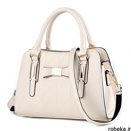white2 bag1 model4 جدیدترین مدل کیف های سفید