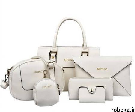 white2 bag1 model5 جدیدترین مدل کیف های سفید