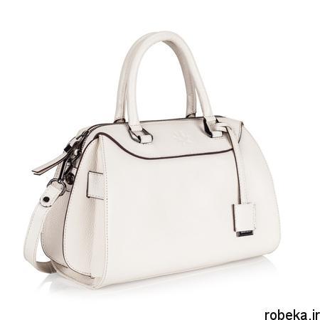 white2 bag1 model6 جدیدترین مدل کیف های سفید