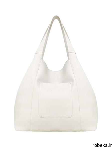 white2 bag1 model9 جدیدترین مدل کیف های سفید