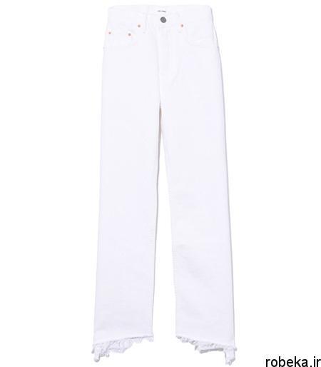 white2 shirt3 summer1 مدل های شلوارجین سفید برای تابستان