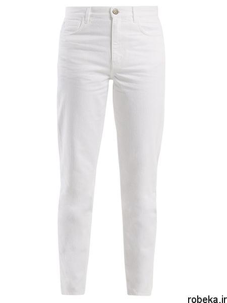 white2 shirt3 summer3 مدل های شلوارجین سفید برای تابستان