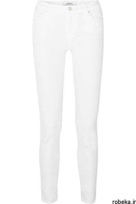 white2 shirt3 summer5 مدل های شلوارجین سفید برای تابستان