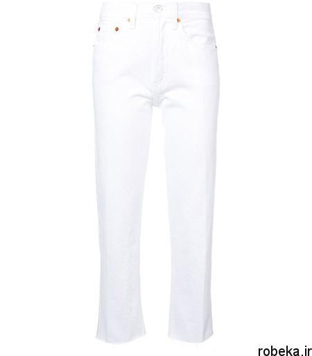 white2 shirt3 summer6 مدل های شلوارجین سفید برای تابستان