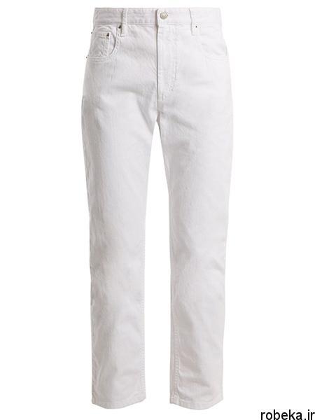 white2 shirt3 summer7 مدل های شلوارجین سفید برای تابستان