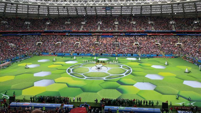 worldcup2018 openingceremony97032401 عکس های مراسم افتتاحیه جام جهانی ۲۰۱۸ روسیه