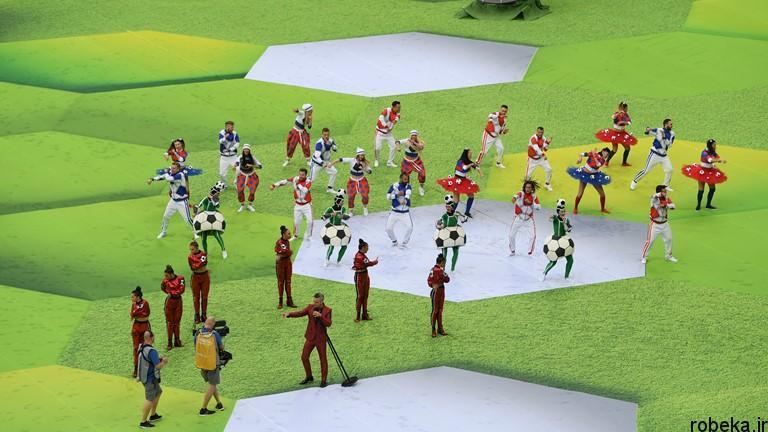worldcup2018 openingceremony97032402 عکس های مراسم افتتاحیه جام جهانی ۲۰۱۸ روسیه