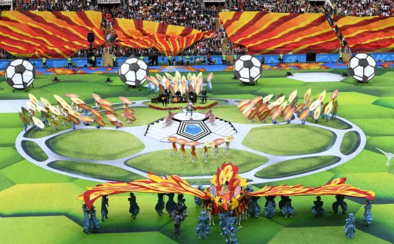 worldcup2018 openingceremony97032403 800x496 عکس های مراسم افتتاحیه جام جهانی ۲۰۱۸ روسیه