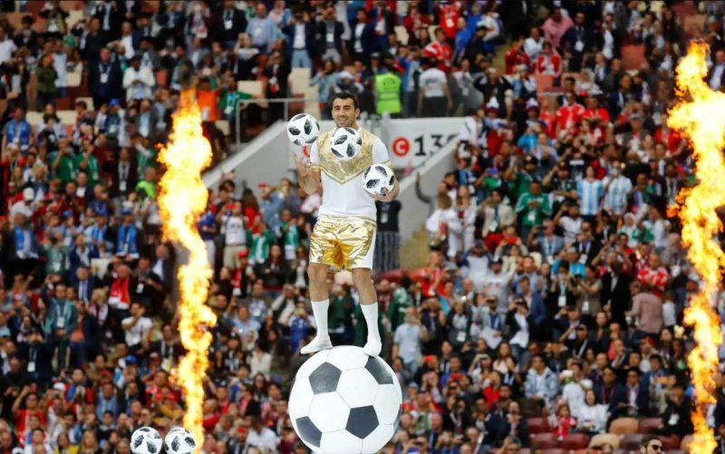 worldcup2018 openingceremony97032404 800x501 عکس های مراسم افتتاحیه جام جهانی ۲۰۱۸ روسیه