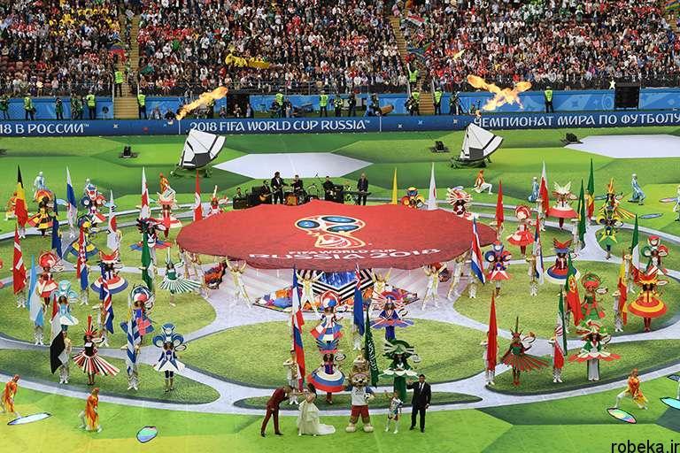 worldcup2018 openingceremony97032411 عکس های مراسم افتتاحیه جام جهانی ۲۰۱۸ روسیه
