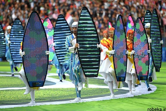 worldcup2018 openingceremony97032412 عکس های مراسم افتتاحیه جام جهانی ۲۰۱۸ روسیه