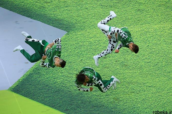 worldcup2018 openingceremony97032414 عکس های مراسم افتتاحیه جام جهانی ۲۰۱۸ روسیه