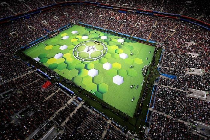 worldcup2018 openingceremony97032416 عکس های مراسم افتتاحیه جام جهانی ۲۰۱۸ روسیه