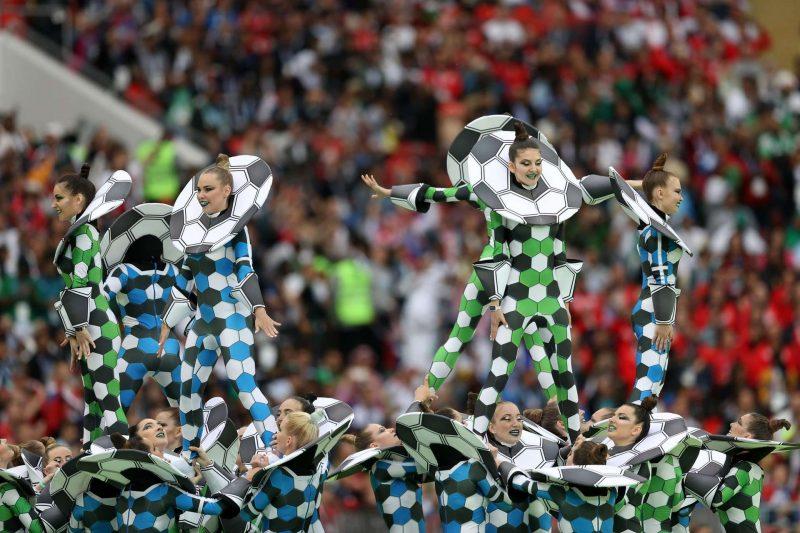 worldcup2018 openingceremony97032417 800x533 عکس های مراسم افتتاحیه جام جهانی ۲۰۱۸ روسیه